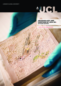 PDF version of Archaeology and Heritage of Asia MA