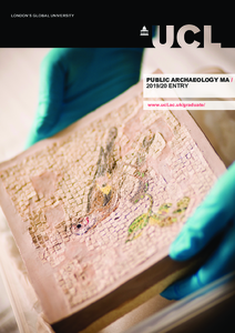 PDF version of Public Archaeology MA