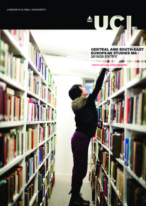 PDF version of Central and South-East European Studies MA