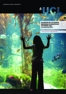 PDF version of European Studies: Modern European Studies MA