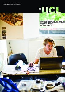 PDF version of Inter-disciplinary Urban Design MRes
