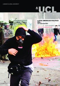 PDF version of Latin American Politics MSc