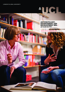 PDF version of Anthropology, Environment and Development MSc