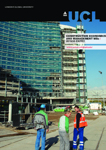 PDF version of Construction Economics and Management MSc
