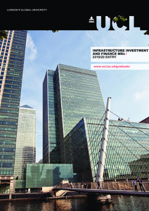 PDF version of Infrastructure Investment and Finance MSc