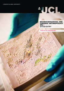 PDF version of Bioarchaeology and Forensic Anthropology MSc