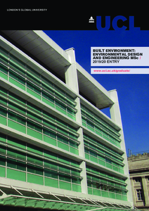 PDF version of Built Environment: Environmental Design and Engineering MSc