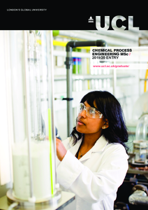 PDF version of Chemical Process Engineering MSc