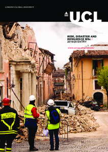 PDF version of Risk, Disaster and Resilience MSc
