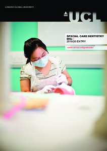 PDF version of Special Care Dentistry MSc