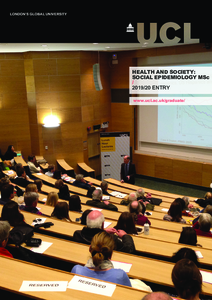 PDF version of Health and Society: Social Epidemiology MSc