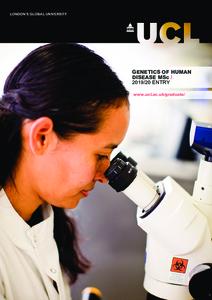 PDF version of Genetics of Human Disease MSc
