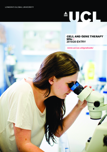 PDF version of Cell and Gene Therapy MSc