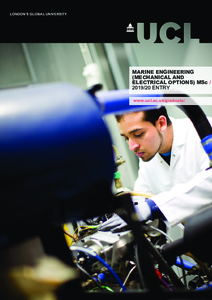 PDF version of Marine Engineering (Mechanical and Electrical Options) MSc