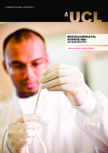 PDF version of Musculoskeletal Science MSc