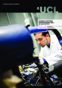 PDF version of Power Systems Engineering MSc