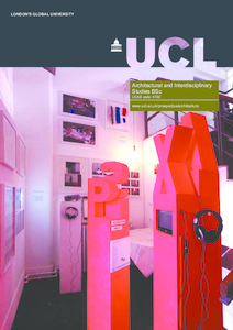 PDF version of Architectural and Interdisciplinary Studies BSc