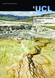 PDF version of Environmental Geoscience BSc