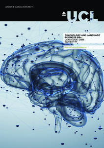 PDF version of Psychology and Language Sciences BSc