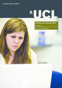 PDF version of Science and Society BSc