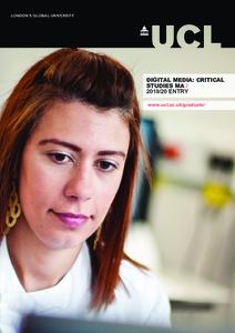 PDF version of Digital Media: Critical Studies