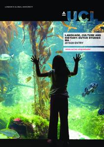 PDF version of Language, Culture and History: Dutch Studies