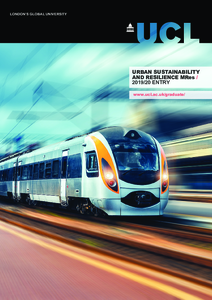 PDF version of Urban Sustainability and Resilience