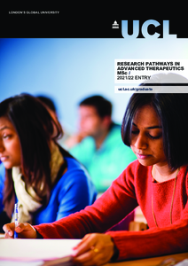 PDF version of Research Pathways in Advanced Therapeutics
