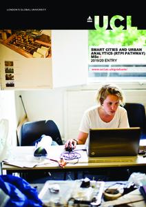 PDF version of Smart Cities and Urban Analytics (RTPI Pathway)