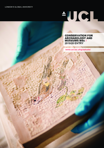 PDF version of Conservation for Archaeology and Museums