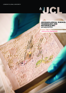PDF version of Archaeological Science: Technology and Materials
