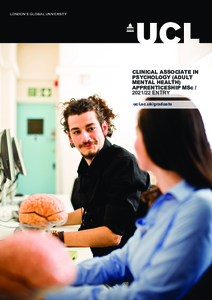 PDF version of Clinical Associate in Psychology (Adult Mental Health) apprenticeship