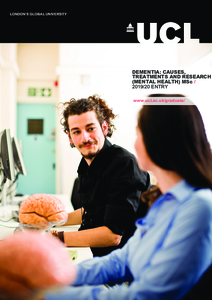 PDF version of Dementia: Causes, Treatments and Research (Mental Health)