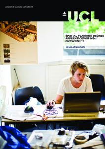 PDF version of Spatial Planning Degree Apprenticeship