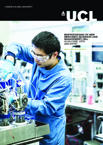 PDF version of Bioprocessing of New Medicines (Business and Management) BSc
